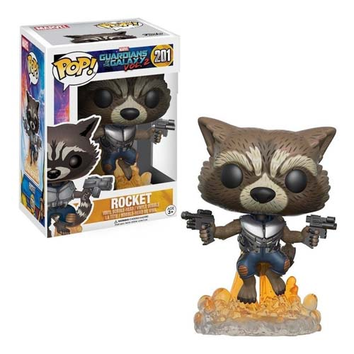 funko pop rocket guardianes de la galaxia