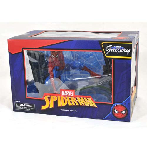 estatua spiderman marvel