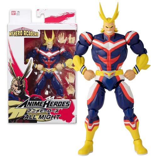 figura all might my hero academia bandai