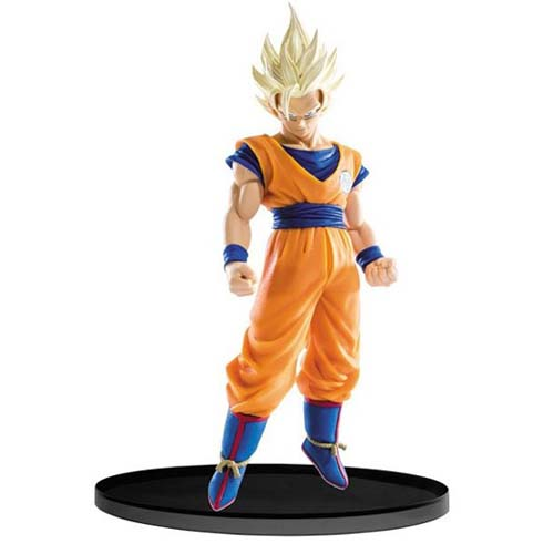 figura goku super saiyan dragon ball banpresto