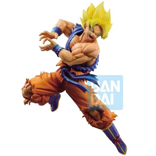 figura goku super saiyan dragon ball z battle banpresto