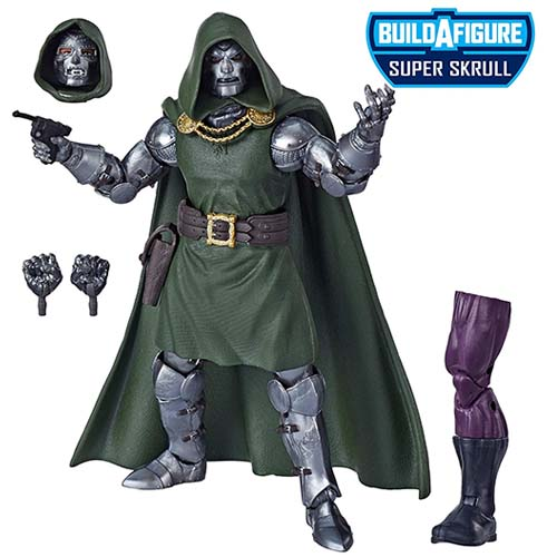 figura marvel legends doctor doom hasbro