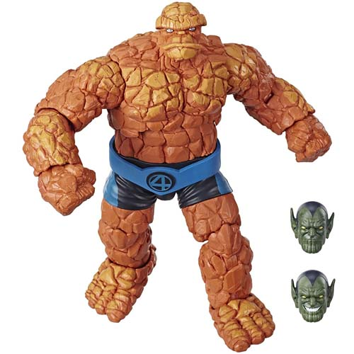 figura marvel legends the thing hasbro