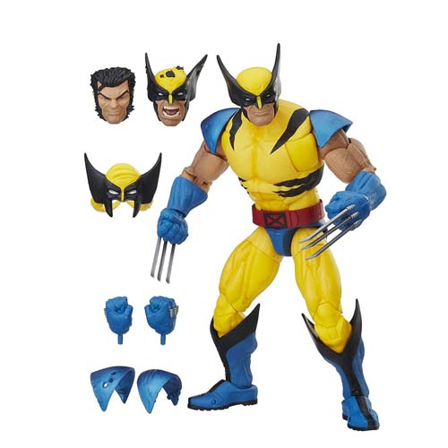 figura wolverine 30 cm hasbro marvel legends