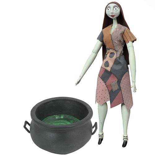 figura sally cauldron coffin doll pesadilla antes de navidad