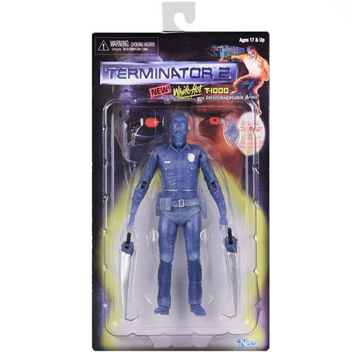 figura white hot terminator 2 t 1000