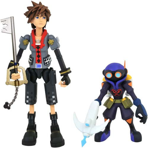 figura sora y air soldier kingdom hearts 3