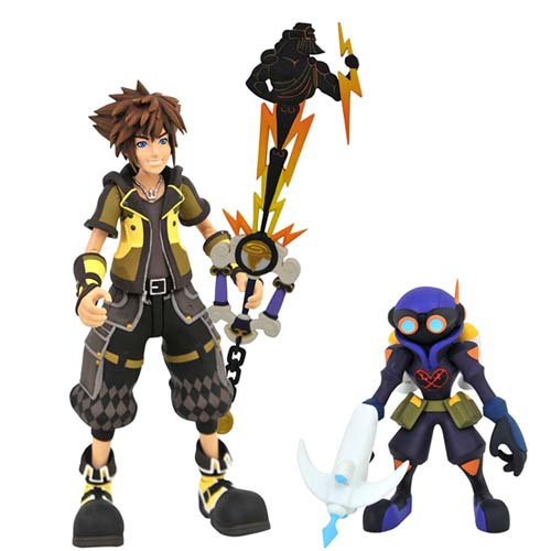figuras sora y air soldier kingdom hearts 3