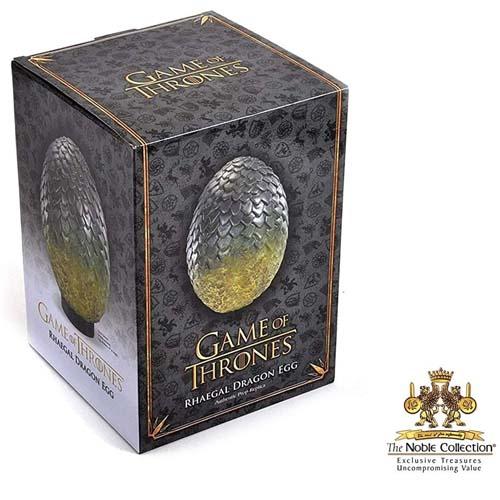 huevo dragón rhaegal juego de tronos