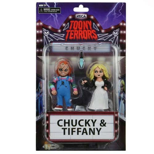 pack 2 figuras chucky and tiffany neca