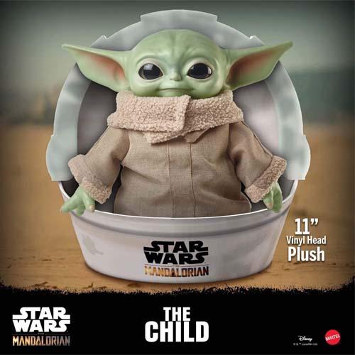 peluche baby yoda mattel star wars