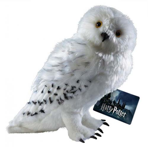 peluche hedwig harry potter 30 cm noble collection