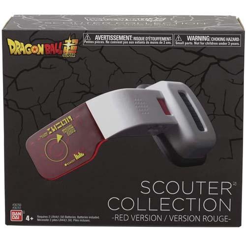 réplica scouter rojo dragon ball z bandai