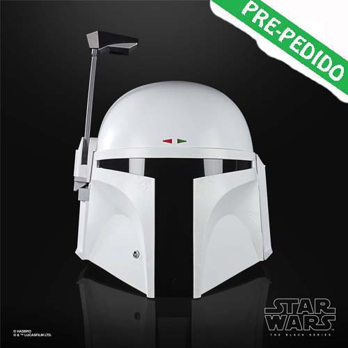 casco boba fett prototipo black series star wars
