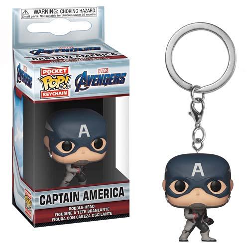 llavero funko pop capitan america avengers end game marvel