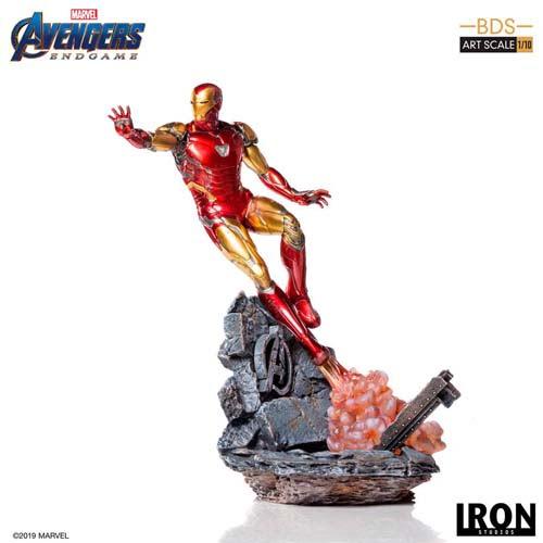 estatua iron man mark lxxxv vengadores endgame