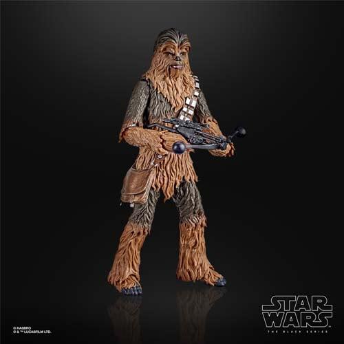 figura chewbacca black series star wars