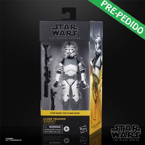 figura kamino black series clone trooper star wars