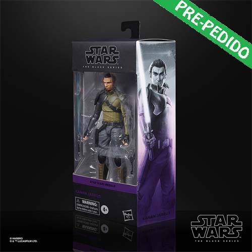 figura kannan jarrus black series star wars rebels