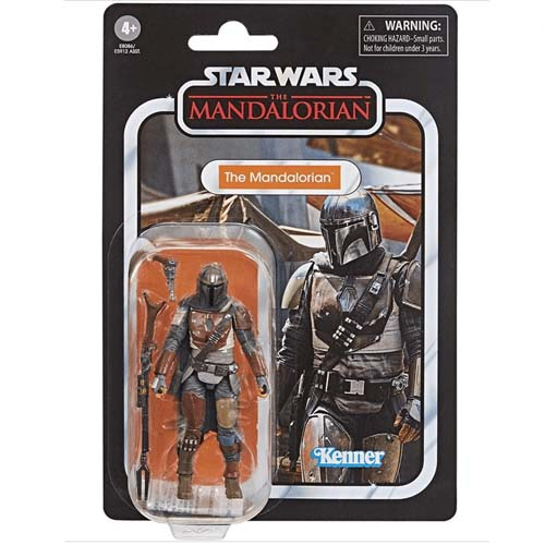 figura the mandalorian star wars vintage hasbro