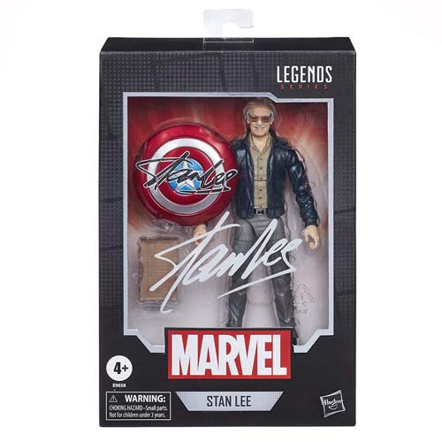 figura stan lee marvel legends hasbro
