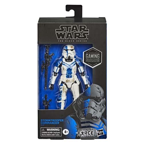 figura stormtrooper commander star wars black series