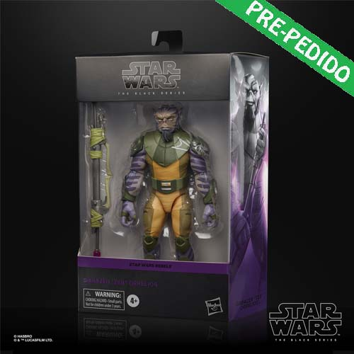 figura black series zeb orrelios rebels star wars