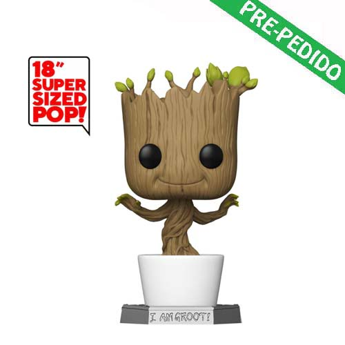 funko pop dancing groot 46 cm marvel guardianes de la galaxia