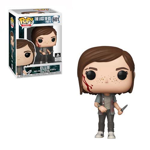 funko pop ellie the last of us 2 play station 4