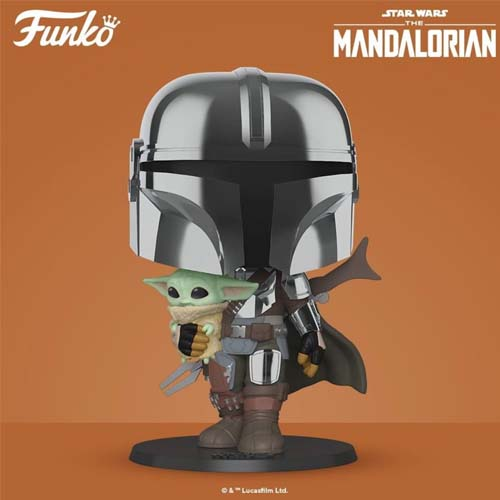 funko pop the mandalorian 25 cm star wars