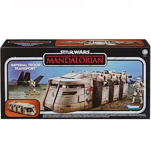 imperial troop transport vintage the mandalorian