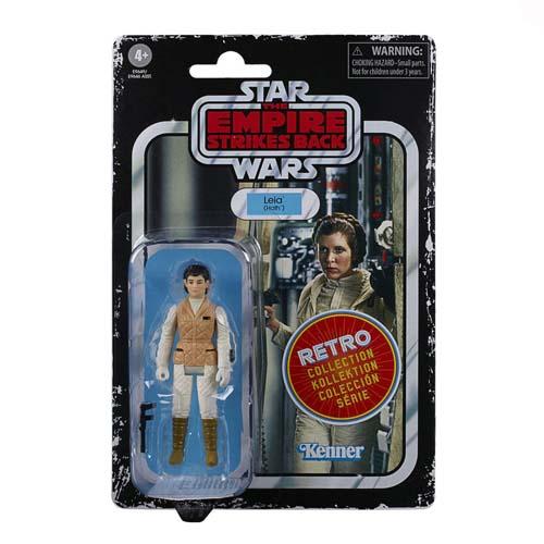 star wars episodio 5 retro leia