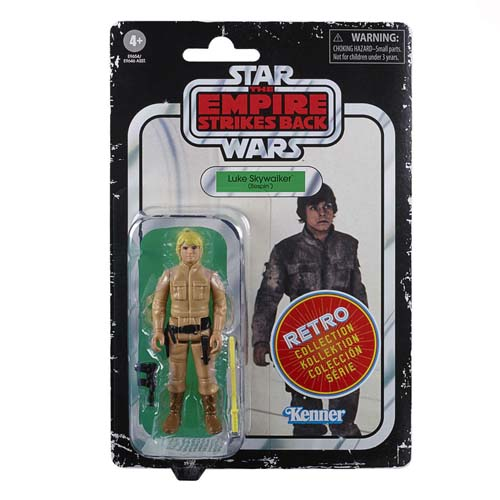 star wars episodio 5 retro luke slywalker