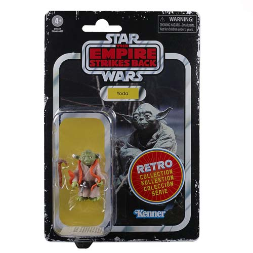 star wars episodio 5 retro yoda