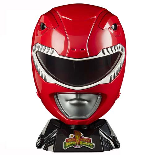 casco red ranger power rangers hasbro