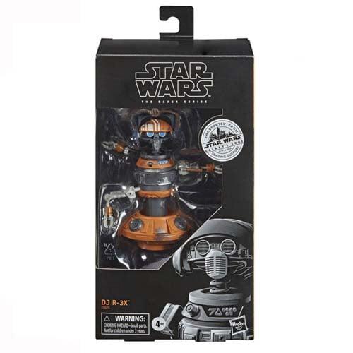 figura black series dj r-3x star wars
