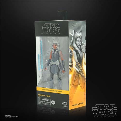 figura black series star wars ahsoka tano the clone wars hasbro