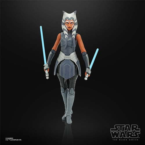 figura black series star wars ahsoka tano the clone wars hasbro