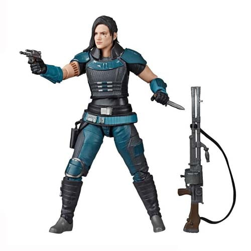 figura black series star wars cara dune the mandalorian