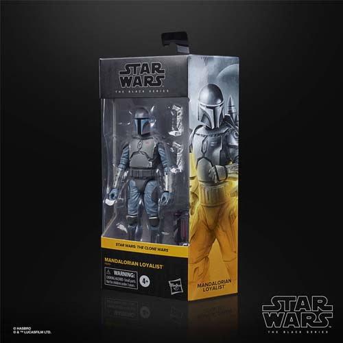 figura black series star wars mandalorian loyalist the clone wars