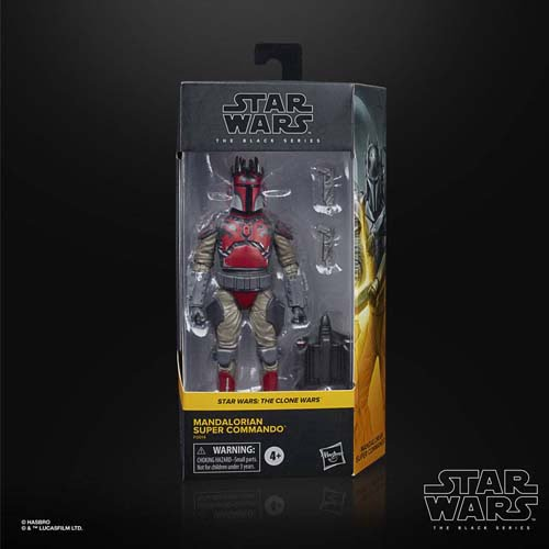 figura black series the clone wars super commando star wars
