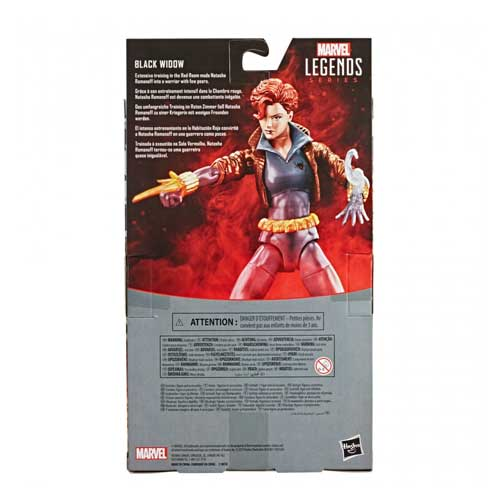 Figura Black Widow Comic Suit Marvel Legends Hasbro