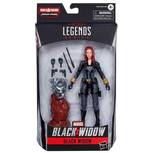 Figura Black Widow Marvel Legends
