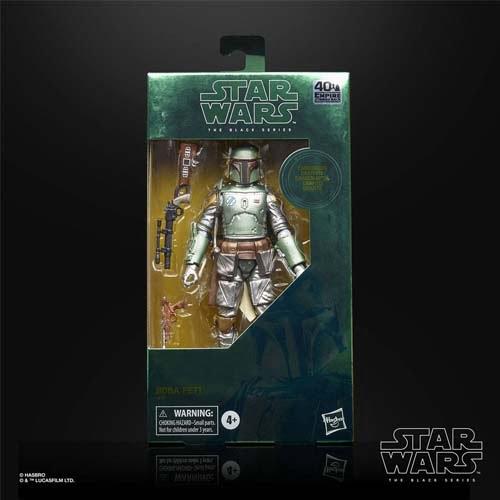 figura boba fett carbonized black series star wars