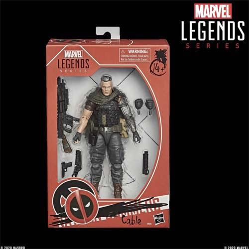 figura marvel legends cable x - men