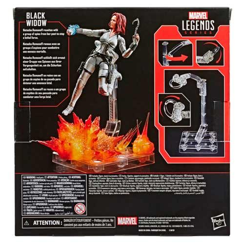 Figura Marvel Legends Deluxe Black Widow Hasbro