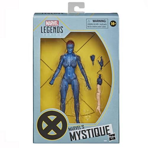 figura marvel legends mystique x-men 20 aniversario hasbro