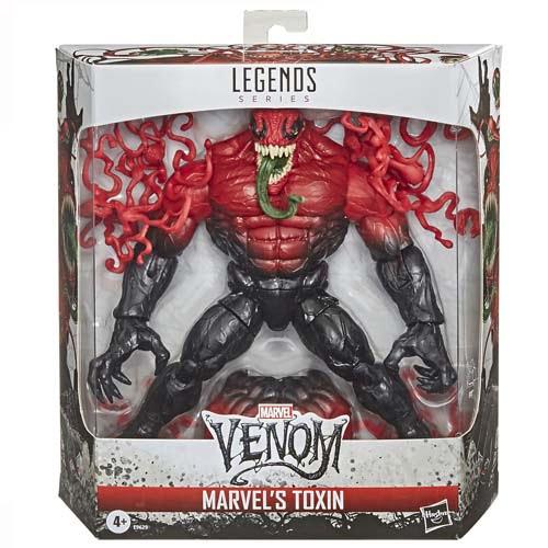figura marvel legends toxin venom hasbro
