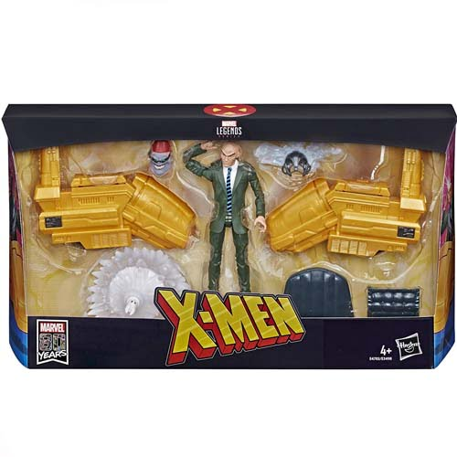 figura professor x marvel legends hasbro