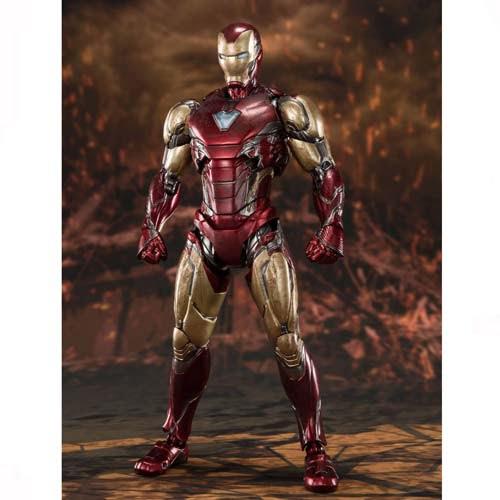 figura iron man sh figuarts marvel batalla final avengers endgame